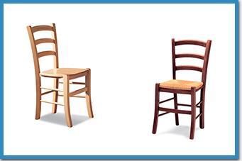Sedie in legno per ristoranti | BELCA - Belca Srl